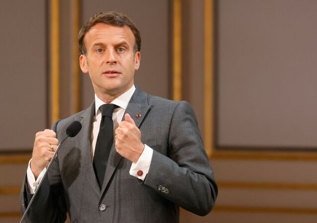 Emmanuel Macron (photo d'archives)