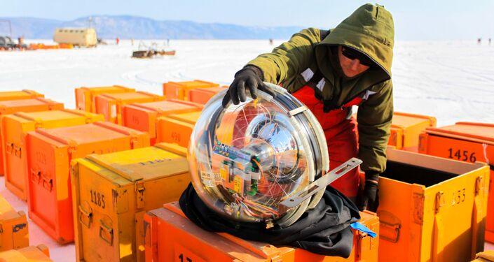 Le télescope russe Baïkal-GVD