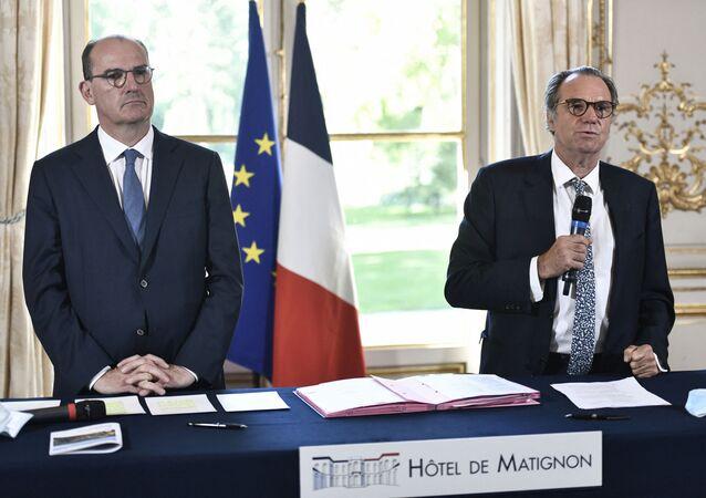 Jean Castex et Renaud Muselier, le 30 juillet 2020