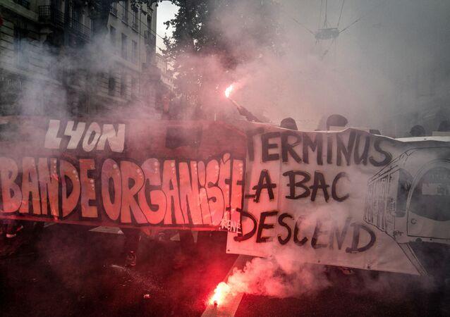 Manifestation du 1er mai à Lyon