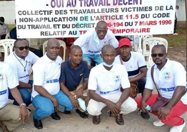 Le collectif des travailleurs victimes du travail temporaire de Côte d'Ivoire