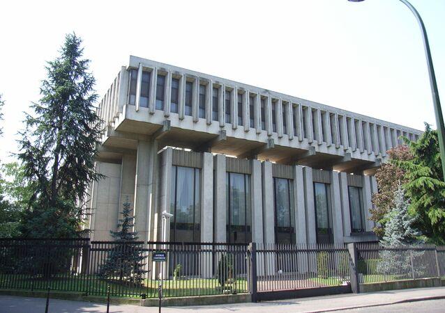L'ambassade de Russie à Paris