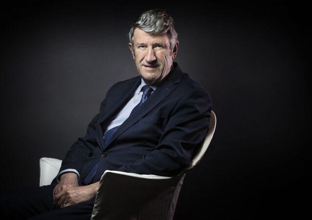 L'écrivain et essayiste Philippe de Villiers, fondateur du Puy du Fou et du Mouvement pour la France