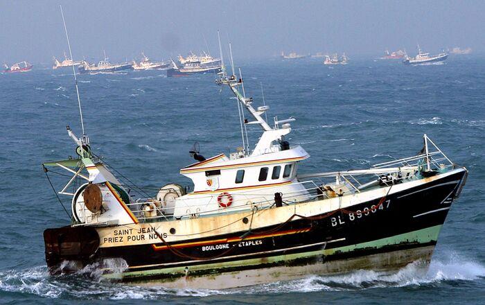 Bateaux de pêche français (photo d'archives)