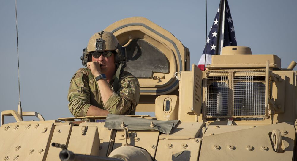 Un véhicule militaire américain dans le nord-est de la Syrie (archives)