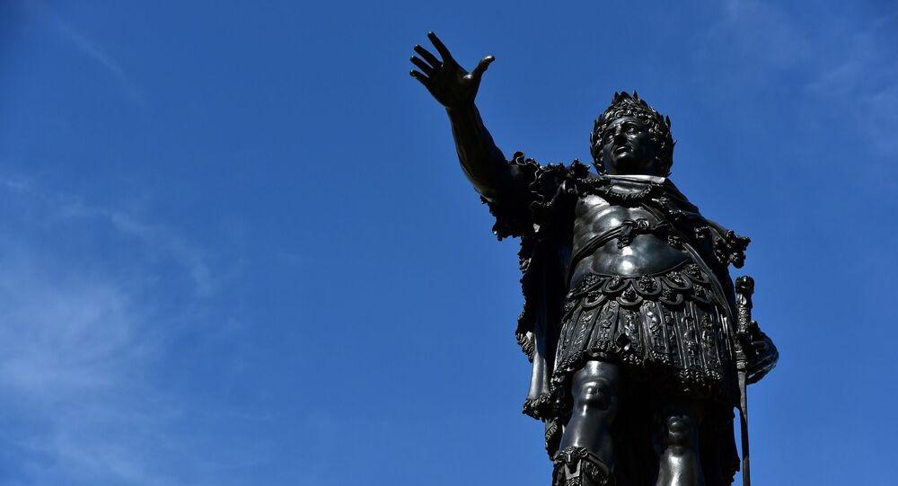 Statue d'Auguste à Augsbourg