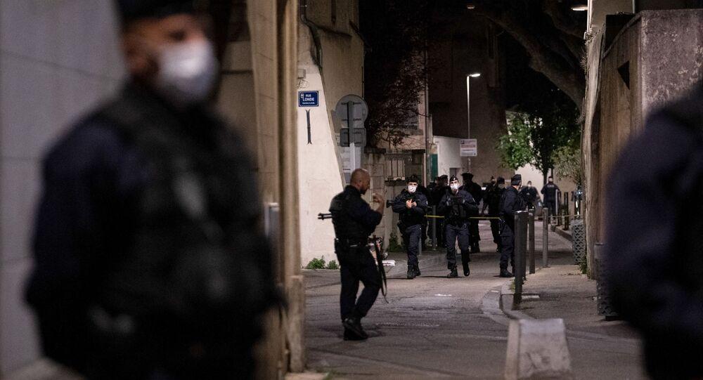 Situation à Avignon après le meurtre du policier Eric Masson lors d'une opération anti-drogue