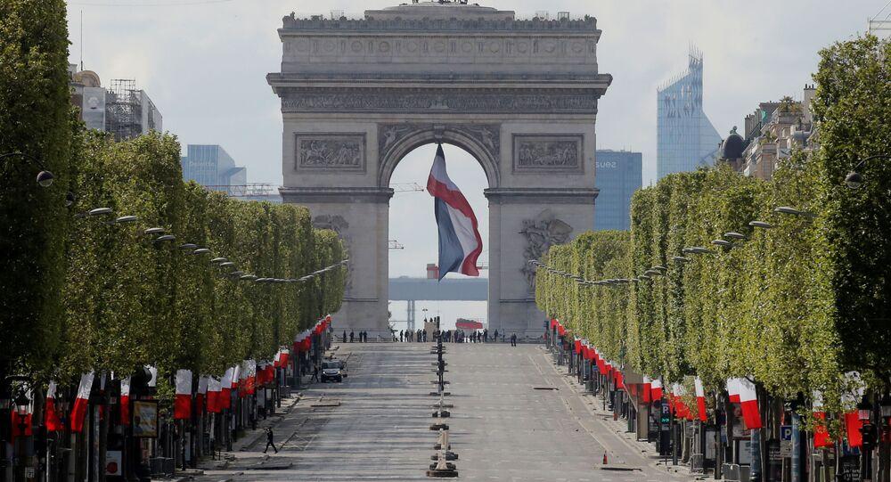 Paris, le 8 mai 1945