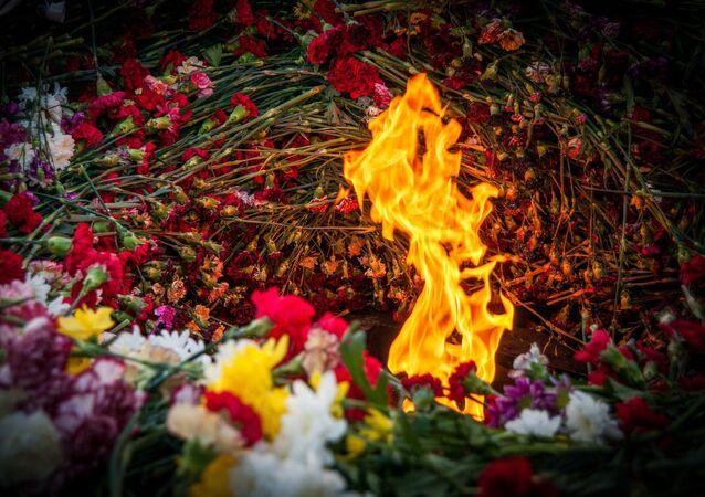 La flamme éternelle (image d'illustration)