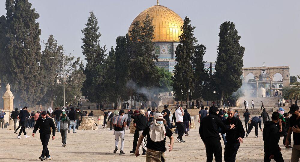 tensions près de la mosquée Al Aqsa