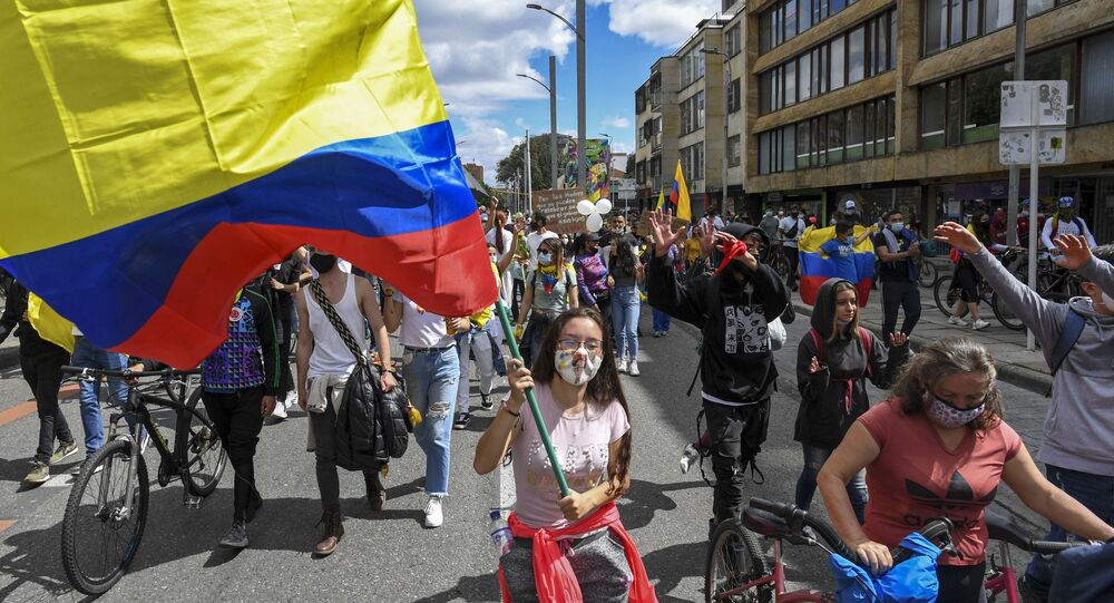 Manifestations Colombie