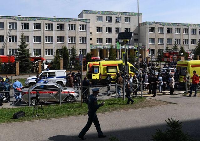 Fusillade dans une école à Kazan, le 11 mai 2021
