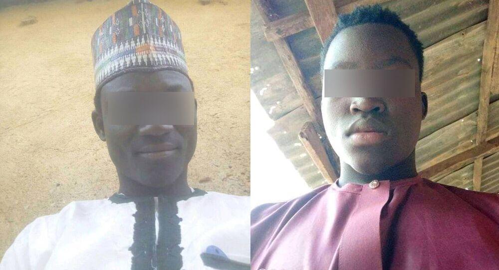 Mineurs enlevés par Boko Haram au Tchad, Abdelkadri Aboukar Kallah ( à gache) livre son histoire.