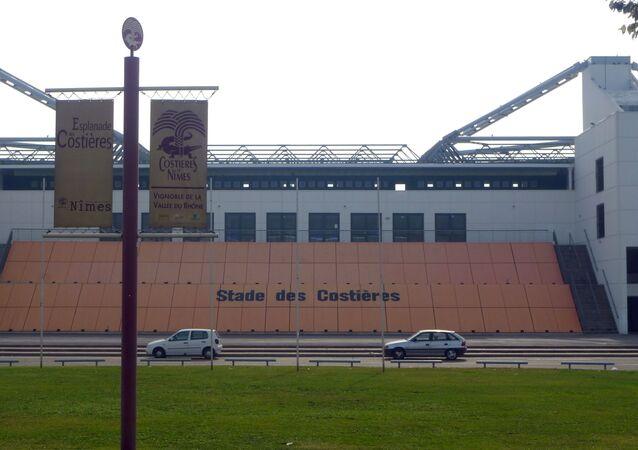 Le stade des Costières, le terrain de jeu du Nîmes Olympique (archive photo)