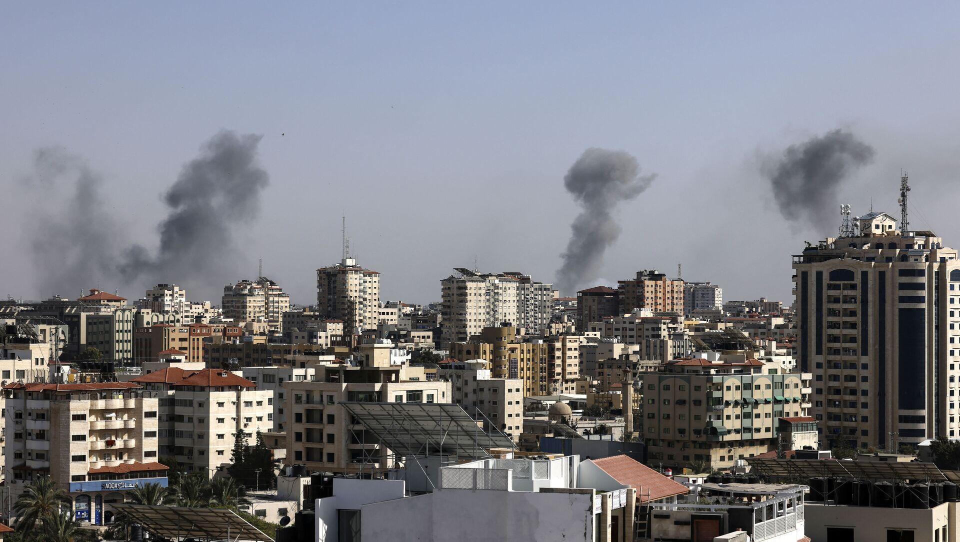 Israël bombarde la bande de Gaza - Sputnik France, 1920, 27.07.2021