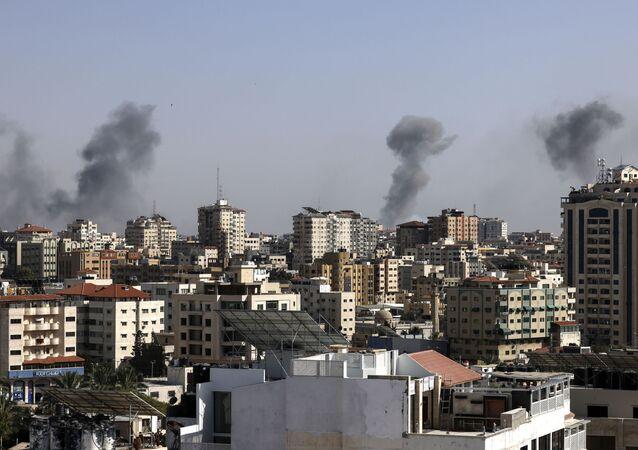 Israël bombarde la bande de Gaza / image d'illustration