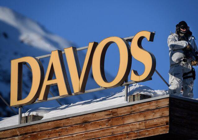 Forum économique mondial de Davos, janvier 2020 (illustration)