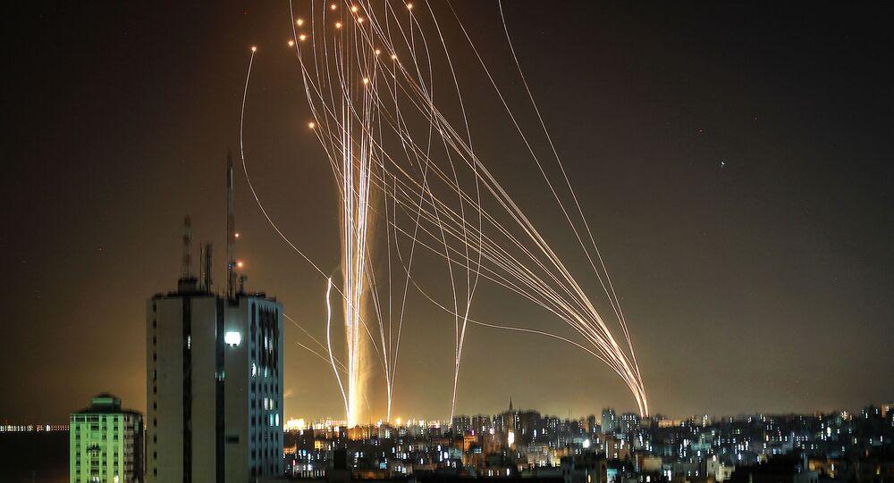 Roquettes lancées de la bande de Gaza