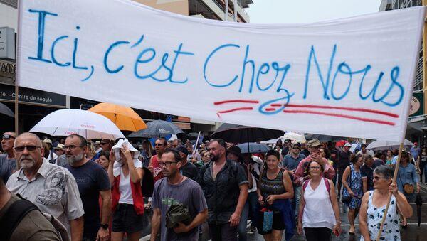 Manifestation de loyalistes à Nouméa - Sputnik France