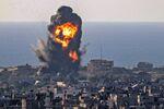 Bombardement israélien dans la bande de Gaza, le 13 mai 2021