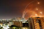 Interception de roquettes palestiniennes par le Dôme de fer