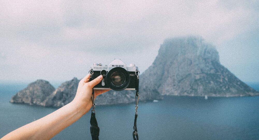 Un appareil photo, image d'illustration