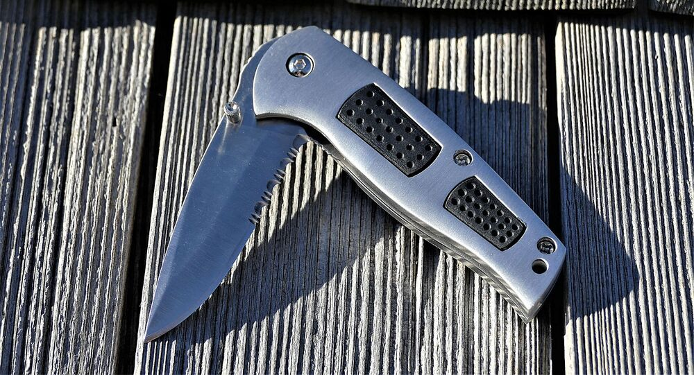 Un couteau (image d'illustration)