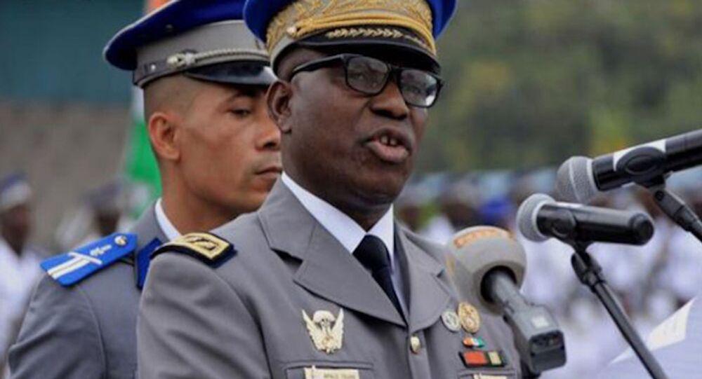 Le commandant supérieur de la gendarmerie nationale ivoirienne Alexandre Apalo Touré