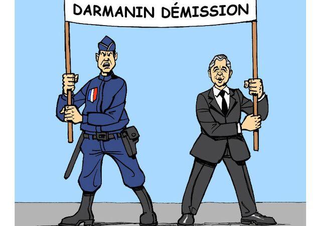 Gérald Darmanin se joindra à la manifestation des policiers du 19 mai