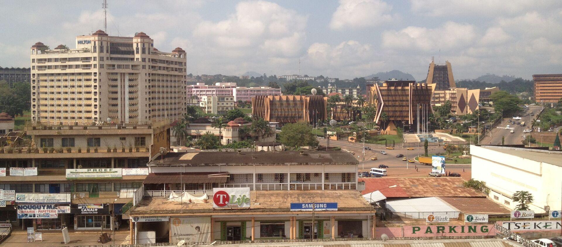 Centre-ville de Yaoundé - Sputnik France, 1920, 06.07.2021