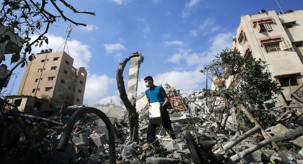Gaza après les frappes