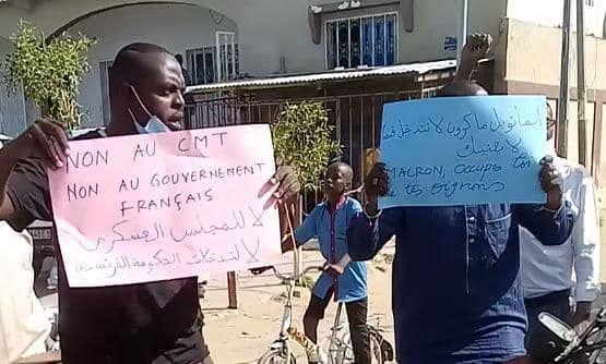Une marche pacifique se tient à N'Djamena contre le Conseil de transition militaire (СTM) et l'ingérence de la France.