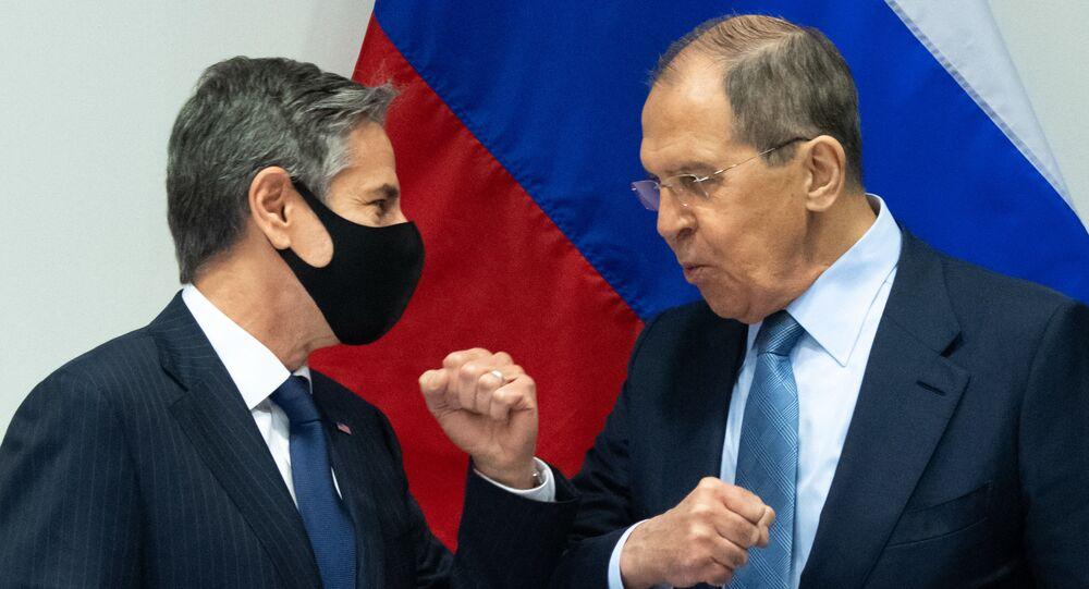 Première rencontre entre Lavrov et Blinken