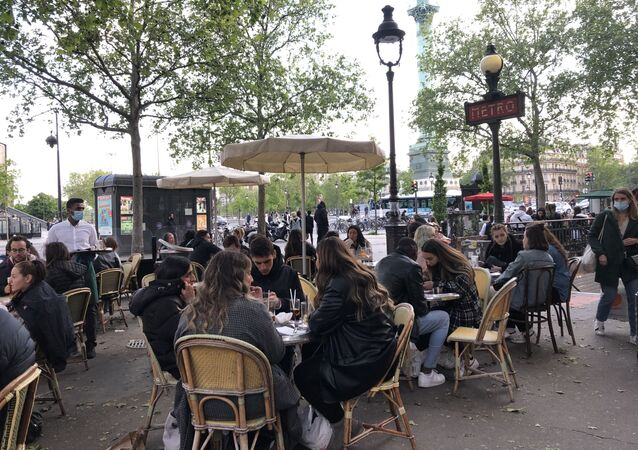 Ouverture des terrasses à Paris, le 19 mai 2021