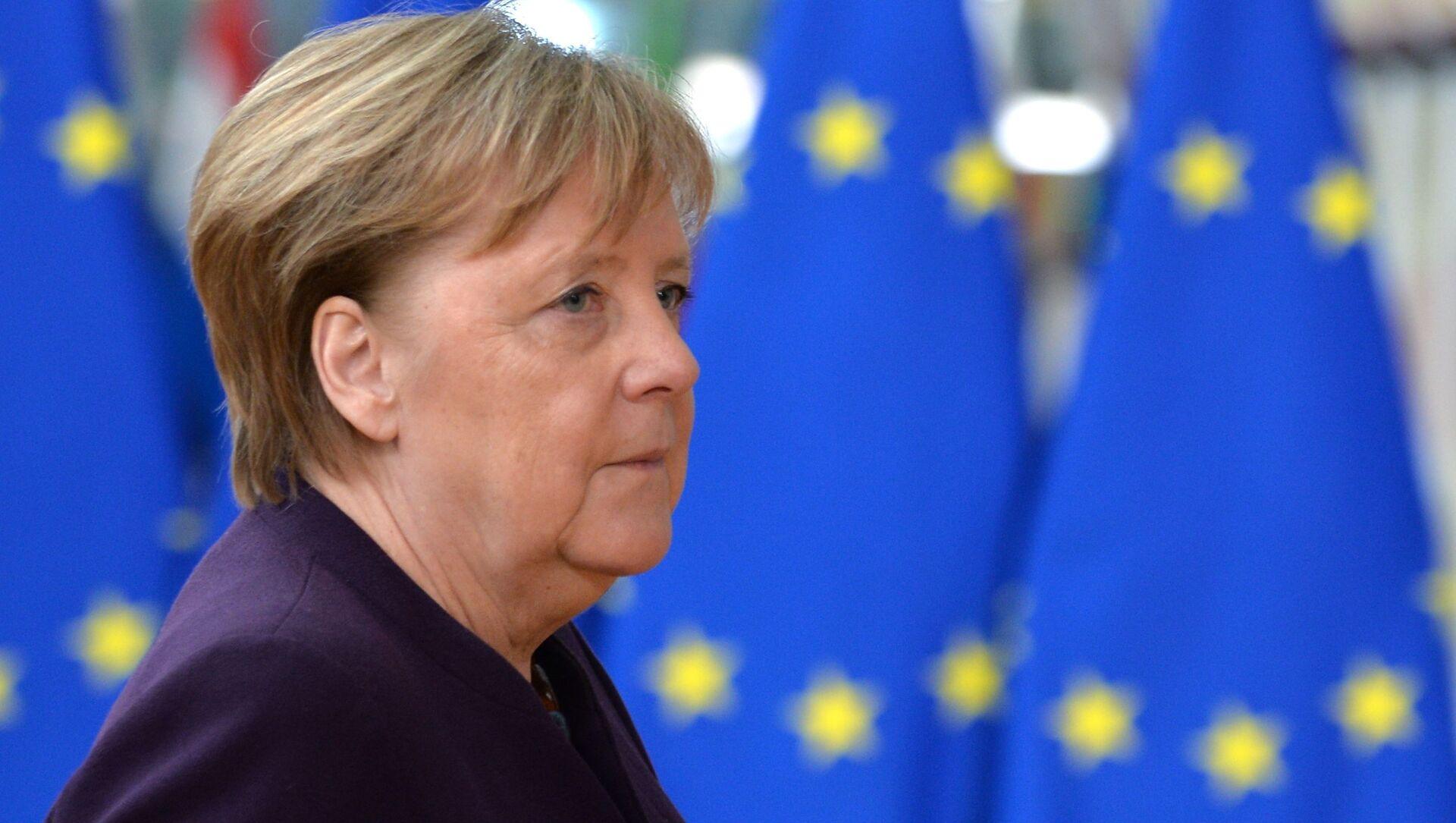 Angela Merkel - Sputnik France, 1920, 07.06.2021
