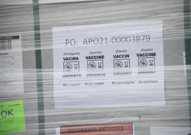 Livraison de vaccins dans le cadre du programme Covax (archive photo)