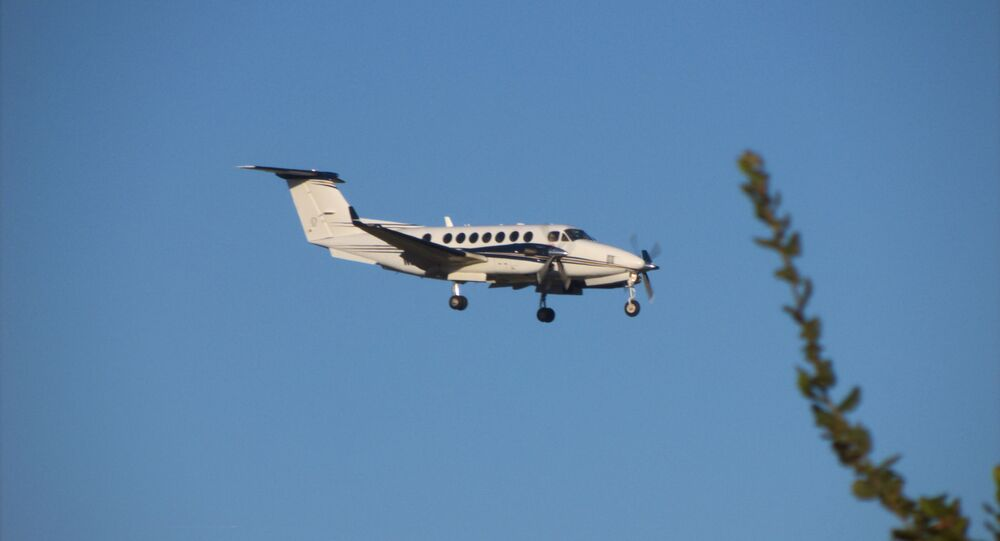 Un Beechcraft King Air 350 (image d'illustration)