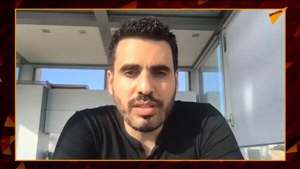 Capture d'écran de la vidéo de Sputnik France bloquée sur YouTube - Idriss Aberkane: la dictature sanitaire, «on y est déjà» - Sputnik France