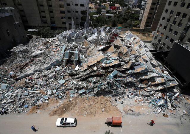 Gaza après plusieurs jours de combats