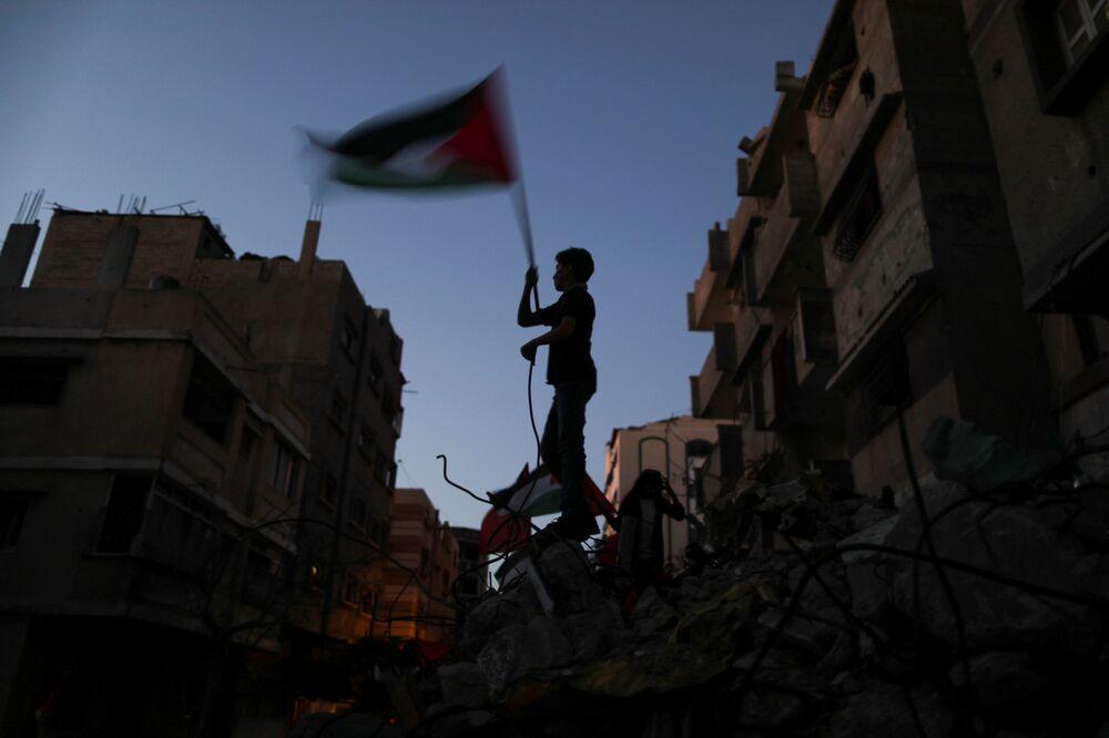 Bande de Gaza, le 23 mai 2021