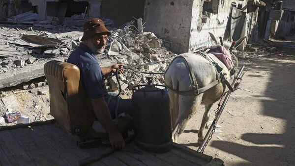 Dans la bande de Gaza - Sputnik France