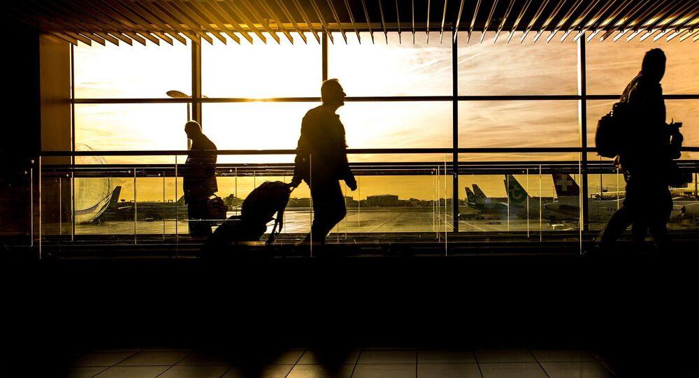 A l'aéroport (Image d'illustration)
