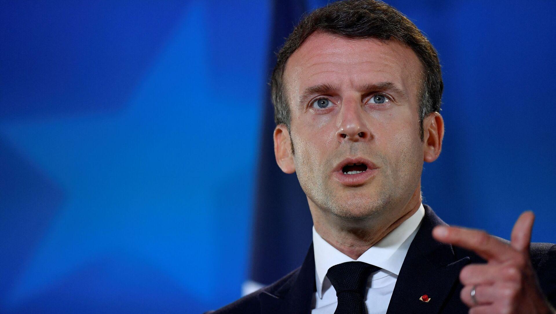 Emmanuel Macron  - Sputnik France, 1920, 30.08.2021