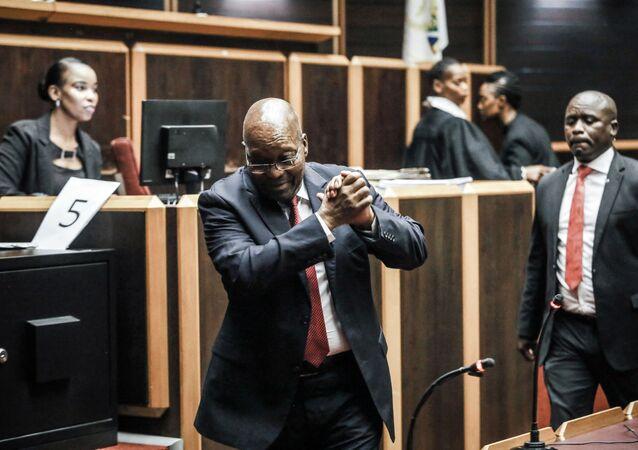 Jacob Zuma, l'ex-président sud-africain