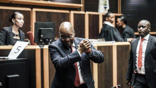 Jacob Zuma, l'ancien président sud-africain - Sputnik France