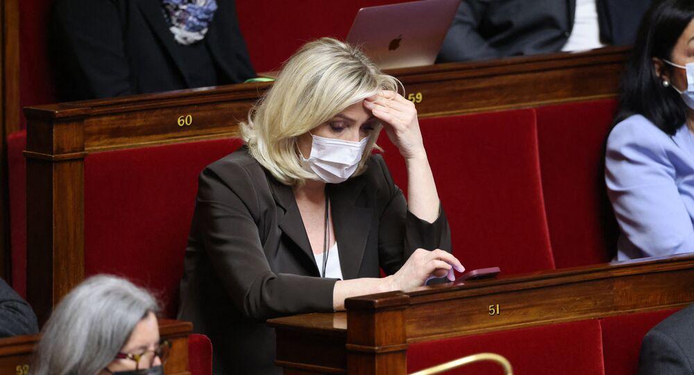 Marine Le Pen à l'Assemblée nationale, le 18 mai 2021