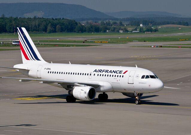 Un avion d'Air France /image d'illustration/