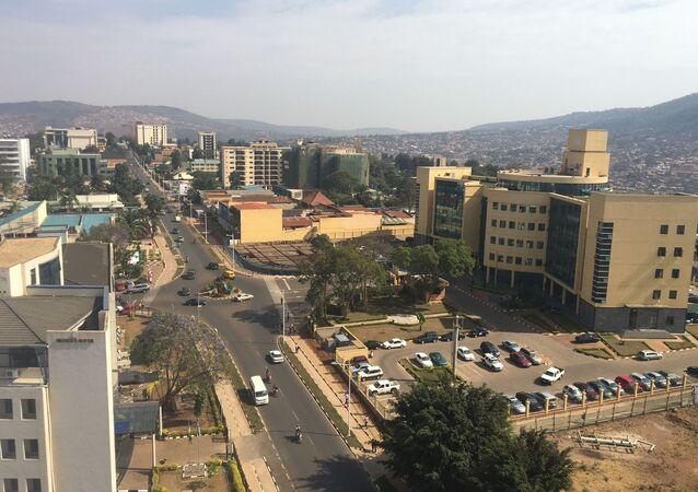 Boulevard à Kigali