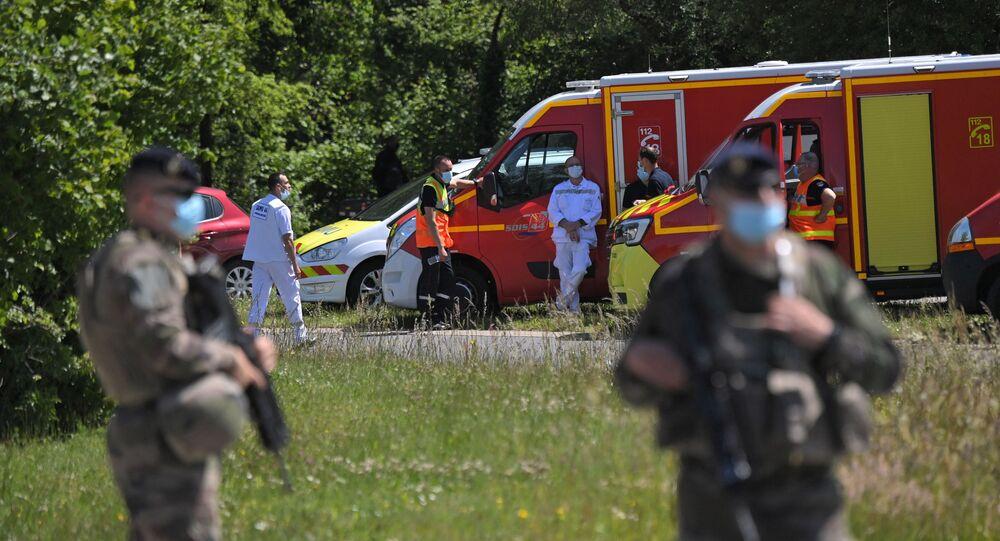 Attaque contre une policière à La Chapelle-sur-Erdre, le 28 mai 2021