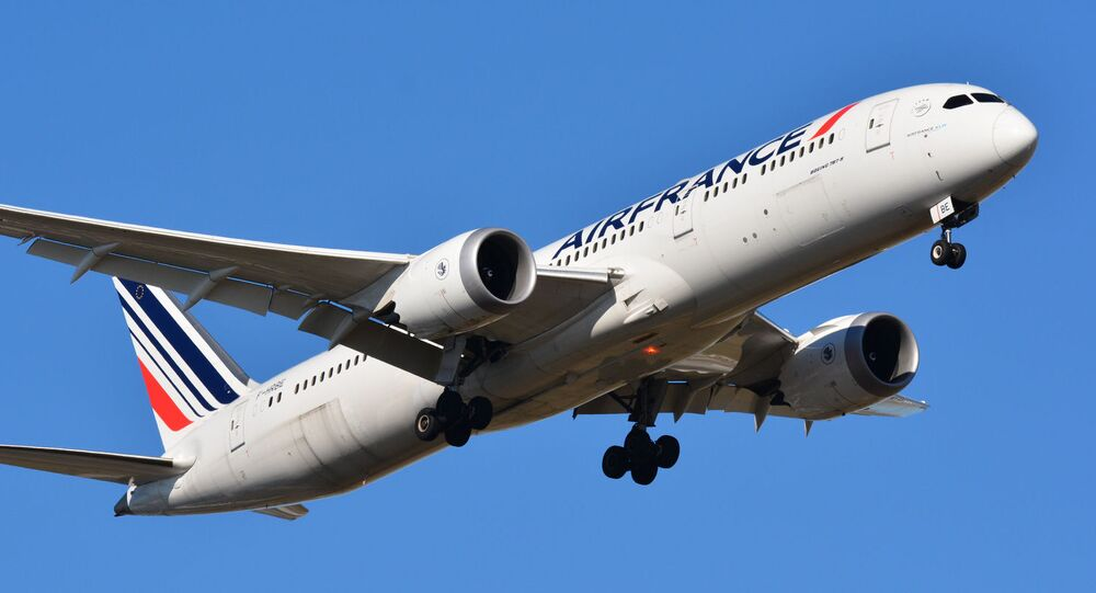 Un Boeing 787-900 Dreamliner d'Air France